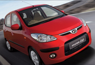 Car rental Seychlles - Hyundai i10